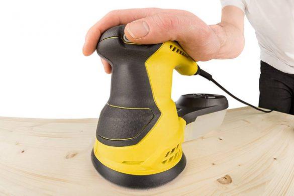 Szlifierka mimośrodowa - idealnie sprawdza się do szlifowania drewna.